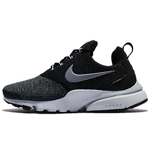 (Nike Womens Presto Fly Low Top Lace Up, Black, Size 8.5)