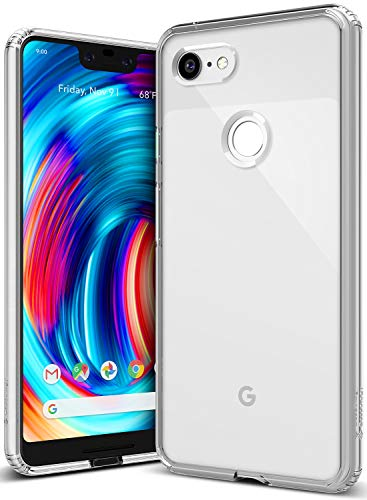 Caseology Waterfall for Google Pixel 3 XL Case (2018) - Minimal & Transparent - Clear