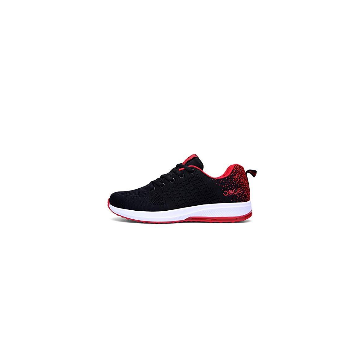 Lxmhz Running Scarpe Sportive Da Donna Sneakers Formatori Outdoor Traspirante Volo Tessere Leggero Shock Assorbimento A Piedi Coppia Scarpa