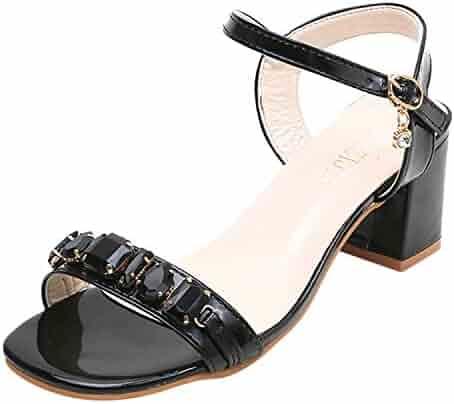 3c78ba81b85e6 Shopping $25 to $50 - Black - Platform - Sandals - Shoes - Girls ...