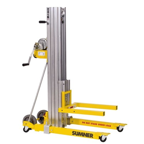 Sumner Manufacturing 784751 2416 Contractor Lift, 16' Height, 450 lb. Capacity ()