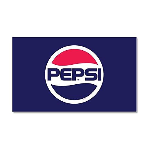 CafePress - Pepsi 90S Logo - Car Magnet, 20