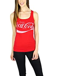 Coca Cola Womens Tank Top Red