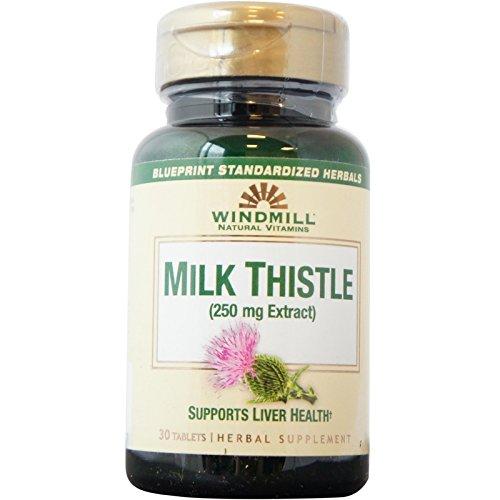 Windmill Milk Thistle 250 mg 30 Tablets - 1