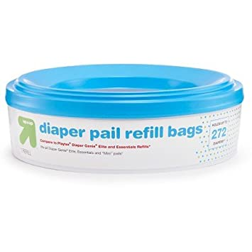 Amazon.com: Up & Up pañal Pail Recarga Bolsas Pack de 4 CT ...