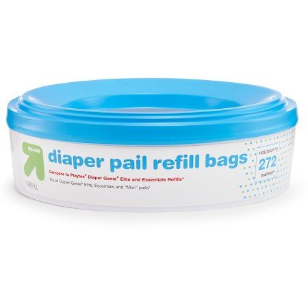 UP&UP Diaper Pail Refill Bags 4 pack 1,088 ct