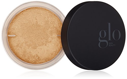Glo Skin Beauty Loose Base - Golden Light | Illuminating Loose Mineral Makeup Powder Foundation | Dewy Finish | 9 Shades