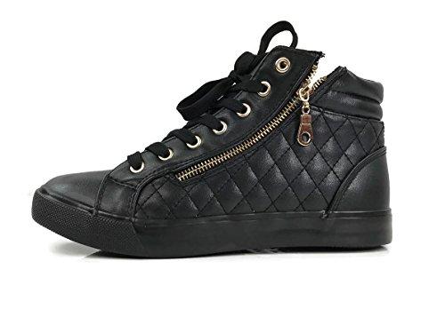 Chaussures Noires Atomiques Pour L'hiver Pour Les Femmes bPHVTBUm