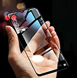 Designerz Hub 6D Tempered Glass (Black) - 9H Full Glue Full HD, Shatterproof, Anti Scratch Screen Guard for Vivo Y15