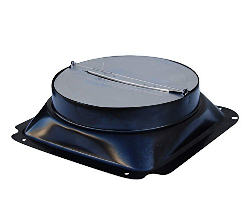 Windster Hood Optional 8-Inch Damper for Range - Dampers Backdraft Series