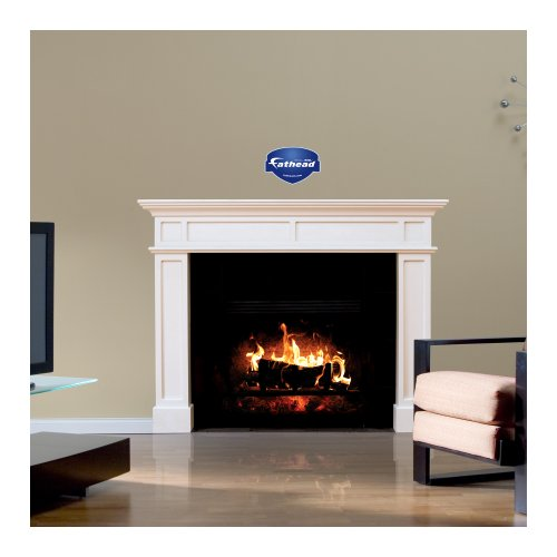 wall decals fireplace - 3