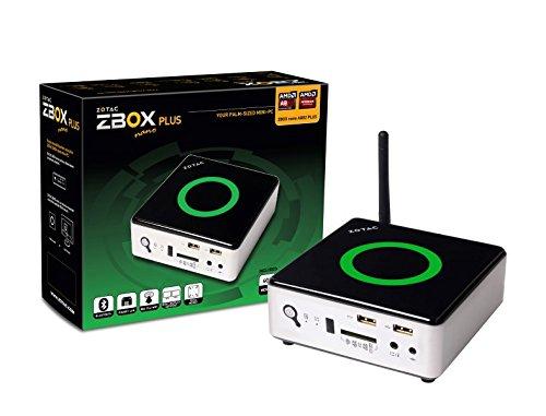 Zotac A&V&GbE Mini PC Barebone System ZBOXNANO-AQ02-PLUS-U