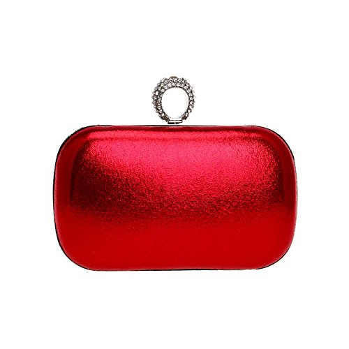 2 banquet fashion Color QEQE Europe bag bag hand evening 3 and bag America Women's dinner ladies Axqw68