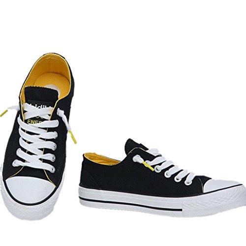 SHFANG Zapatos De La Señora Clásico De Verano Zapatos De Lino Movimiento Ocio Cómodo Estudiantes Escuela De Compras Tres Colores Black