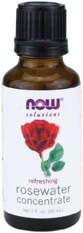 NOW Rosewater Concentrate, 1-Ounce (Pack Of 2)