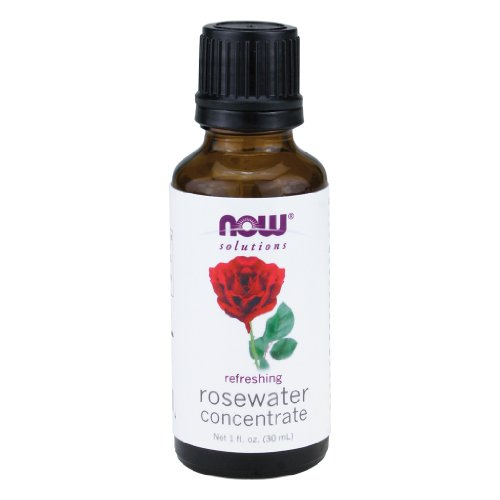 (NOW Rosewater Concentrate, 1-Ounce (Pack Of 2) )