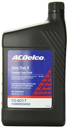 Genuine GM Fluid 88900402 Auto Trak II Transfer Case Fluid - 33.8 oz. (Parts Transfer Case)