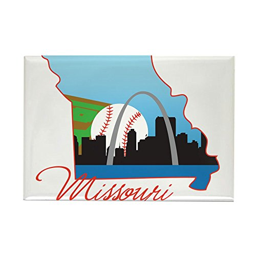 CafePress Saint Louis Missouri Rectangle Magnet, 2