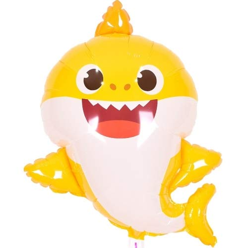 Pinkfong Baby Shark Big Helium Balloon 24 inch Birthday Decorations Picnic Party Supplies Baby -