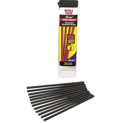 Markal Trades-Marker All Surface Markers, Refill Pack, Black By Tabletop King