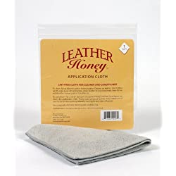 Leather Honey Lint-Free Application Cloth - Perfect for Use with the Best Leather Conditioner Products Since 1968