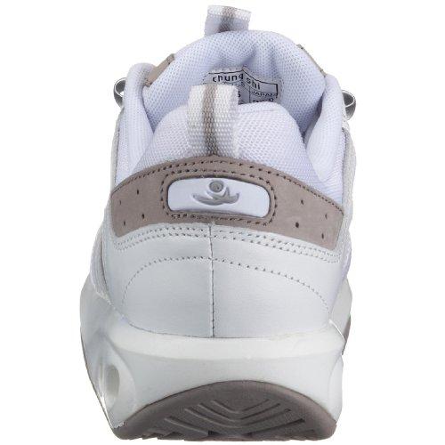 mujer Blanco Zapatillas Shi para de tela Chung 5nqXwY6xF5