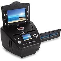 Pyle Media Instant Film & Slide Digitizer Scanner - Format Size 35mm 135 mm Negative Photo Converter to Super High Resolution 5.1 MP - Portable Stand Alone 2.4 Inch Color Digital LCD Screen PSCNPHO53