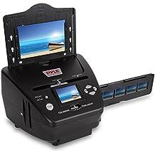"Pyle Media Instant Film & Slide Digitizer Scanner - Format Size 35mm 135 mm Negative Photo Converter to Super High Resolution 5.1 MP - Portable Stand Alone 2.4"" Inch Color Digital LCD Screen PSCNPHO53"