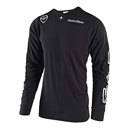 - Troy Lee Designs Mens   Offroad   Motocross   SE Air Solo Jersey (Large, Black)
