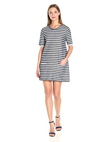 Women's Stripe French Normandy Indigo Dress Brule Connection gwwSxq5C1