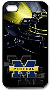 Ncaa Michigan Wolverines Case For Sam Sung Galaxy S4 Mini Cover Slim-fit Case, Best Iphone Case Fell Happy Store's