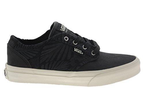 Para Negro Zapatillas De Tela Vans Mujer xPY0vfqYw