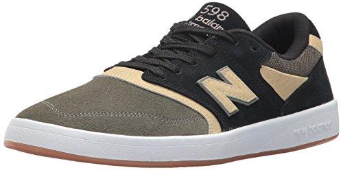 New Balance Männer Nm598ly Schwarze Mili