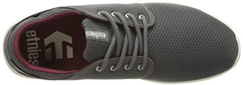 Etnies Scout Sneaker Grau / Rot / Weiß
