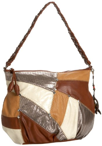 Freebird by the Sak Patched 2 Convertible Hobo,Neutral Multi,one size, Bags Central