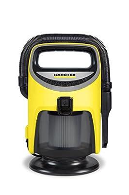 Karcher 1.400-114.0 Indoor Wet and Dry Vacuum, Yellow
