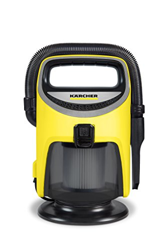 Karcher 1.400-114.0 Indoor Wet and Dry Vacuum, Yellow