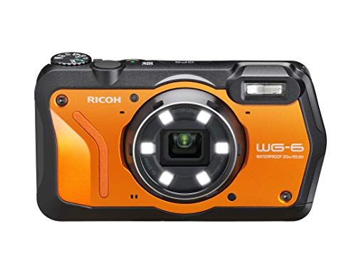 WG-6 20MP Underwater Digital Camera USA Model-Orange (Best Camera For Underwater Photography 2019)
