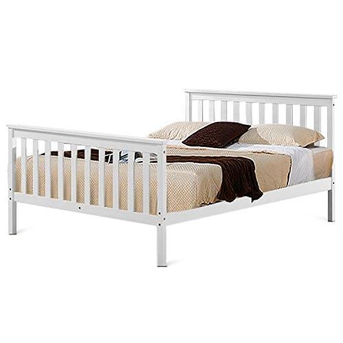 White Small Double Bed Frame: Amazon.co.uk