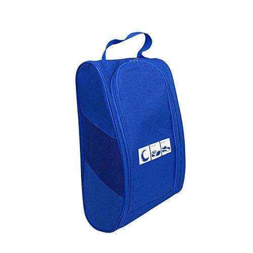 Portable Oxford Travel Shoe Tote Bag, Waterproof Shoe Packing Storage Gym Organizer by Ailaka (Image #4)