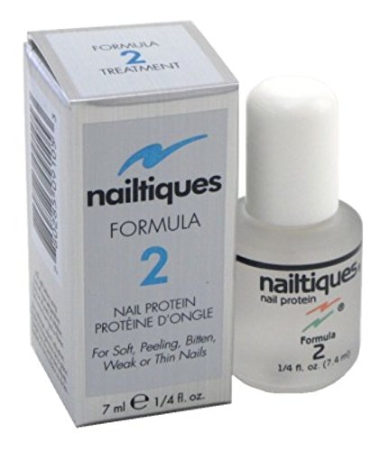 Nailtiques Nail Protein Formula 2, 0.25 oz ( Pack of 3)