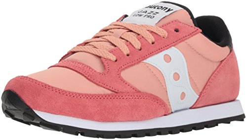 Saucony Jazz Low PRO, Scape per Sport Outdoor Donna Coral/White