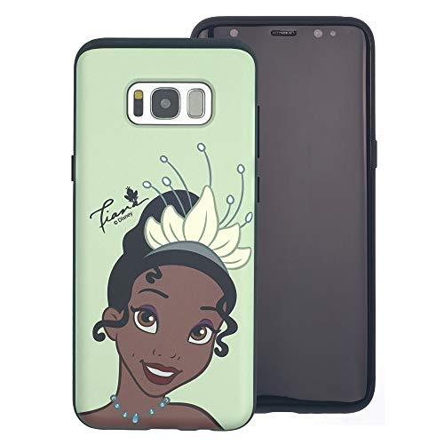 Galaxy S10e Case The Princess and The Frog Layered Hybrid [TPU + PC] Bumper Cover for [ Galaxy S10e (5.8inch) ] Case - Face Tiana