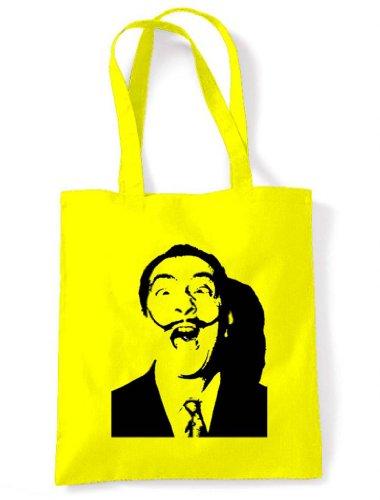 Bag Dali Shoulder Tote Salvador Dali Tote of Salvador colours Yellow choice RtqwTYW1P