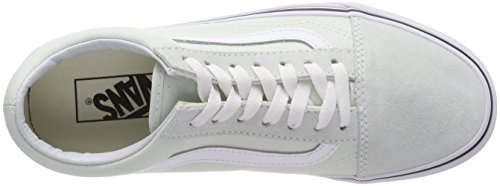 True White Chaussures Old Flower Vans Skool Unique de Vert Bleu Taille Q6l Running Femme Blue Z1nO7qw