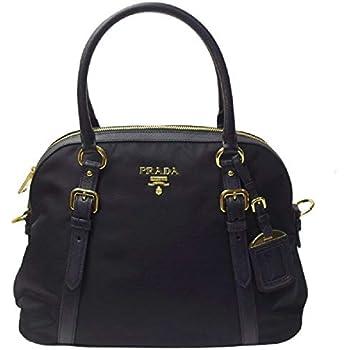 3aac41c24798 Amazon.com: Prada Women's Black Tessuto Lucerto Handbag 1BA016: Shoes