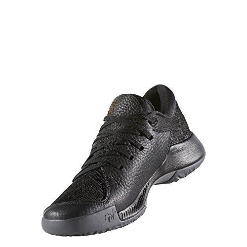 adidas Unisex-Kinder Harden B/E J Fitnessschuhe, Grau Verschiedene Farben (Negbas / Gricin / Ftwbla)