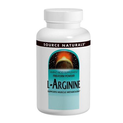 Source Naturals L-Arginine 500mg, 50 comprimés (Pack de 2)