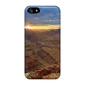 MEX9120Cukf Sunset In The Canyons Fashion Diy For Iphone 4/4s Case Cover For