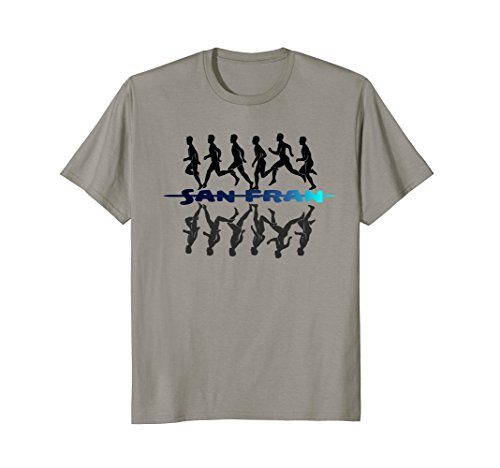 San Francisco Runner T Shirt - San Francisco Shirt Marathon